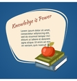 Knowledge Is Power Poster vector image vector image