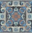 mosaic art pattern seamless image vector image