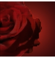 Screw design - rose vector image vector image