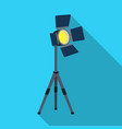 searchlight for cinemamaking movie single icon in vector image