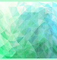 triangular wavy abstract background green and blue