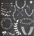Chalkboard Wreaths Arrows Assortment