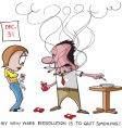 funny cartoons vector image vector image