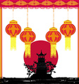 Mid-Autumn Festival for Chinese New Year vector image vector image
