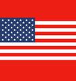 national flag united states america vector image