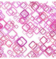 repeating abstract square background pattern vector image vector image