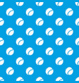 tennis ball pattern seamless blue vector image vector image