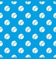 tennis ball pattern seamless blue vector image