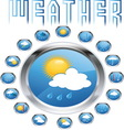 weatherr8 vector image