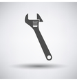 Adjustable wrench icon vector image vector image