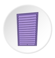 Blinds icon cartoon style vector image vector image