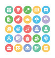 Education Bold Icons 2 vector image vector image