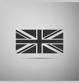 flag of great britain icon united kingdom flag vector image