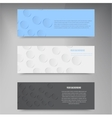 paper template banner White note vector image vector image
