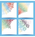 Set of Patterned Banner vector image