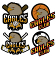 Sets professional logo sport vector image vector image