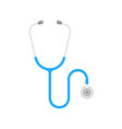 stethoscope icon phonendoscope vector image vector image