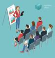 business employee coaching vector image