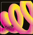 fluid abstract background vector image vector image