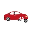 mechanic service isolated icon vector image vector image
