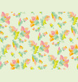 pale color tender naive seamless pattern vector image vector image