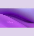 soft purple wave abstract colorful background vector image