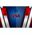 usa backgrounds modern vector image