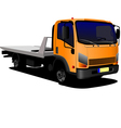 al 0236 lorry vector image