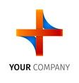 abstract logo vector image vector image