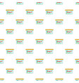 box for donations pattern cartoon style vector image vector image