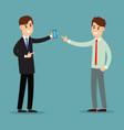 business communication presentation business vector image