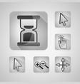 gps navigation application vector image vector image