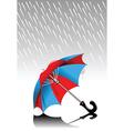 Lost umbrella vector image vector image