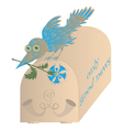 nature bird vector image vector image