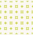 simple minimalist floral geometric seamless vector image vector image