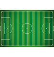 Soccer Football Field vector image vector image