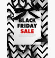 black friday sale discount promo offer poster or vector image