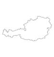 map austria vector image vector image