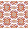 ornamental arabic pattern autumn background for vector image vector image