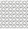 seamless retro bicycle pattern vector image