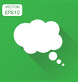 thought bubble icon business concept speech vector image