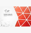 abstract geometric background polygon vector image