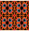 Suzani pattern with Uzbek and Kazakh motifs vector image vector image