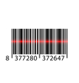 barcode laser vector image vector image
