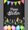 ester greeting card vector image