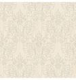 Grunge beige vintage floral seamless pattern vector image vector image