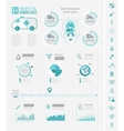 Healthcare Infographic Elements vector image vector image