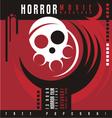 Horror film festival flat design concept vector image vector image