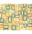 rectangles background vector image