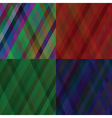 set of line backgrounds vector image vector image